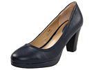Fitzwell - Mandy Pump (Navy Leather) - Footwear