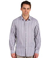 Perry Ellis - L/S Striped Shirt