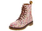 Dr. Martens - Page Folded 8-Eye Boot (Pink Meadow) - Footwear
