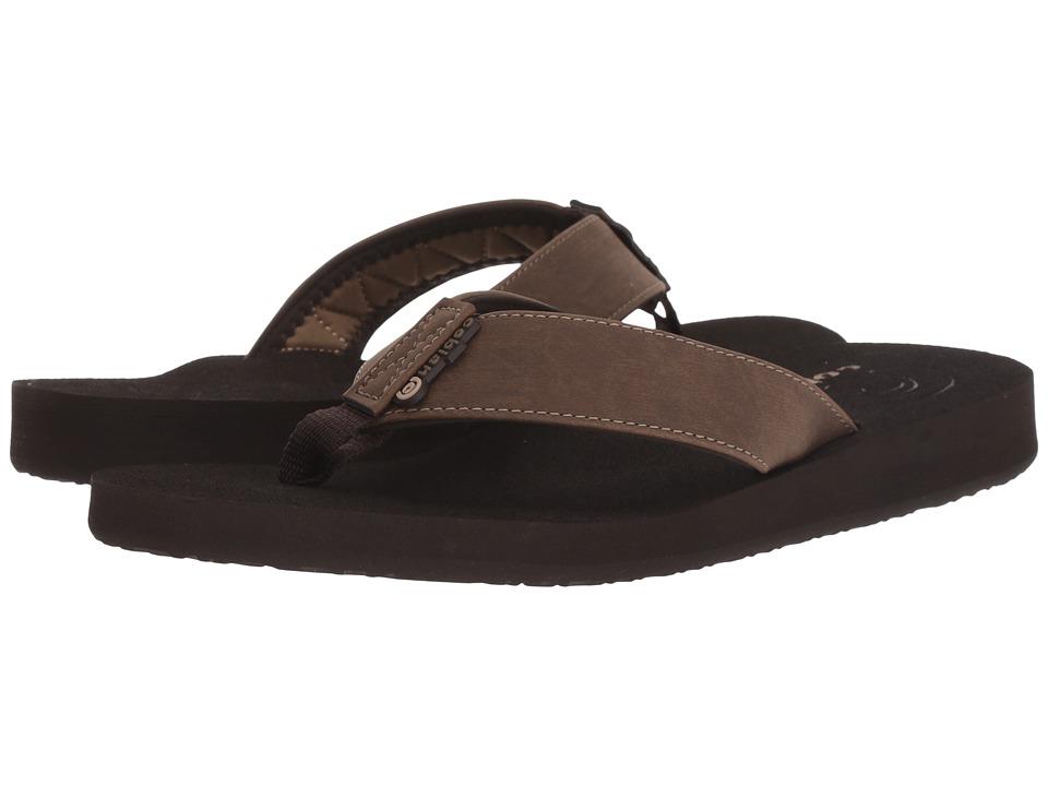 Cobian Floater Mocha Mens Sandals