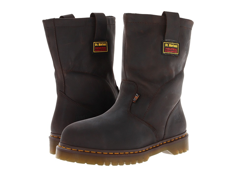 Dr. Martens Work 2295 ST IM Wellington Gaucho Volcano Mens Work Pull on Boots