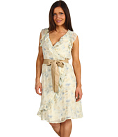 Stetson - Soft Floral Print Chiffon Dress