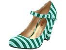 Poetic Licence - The Right Stripes (Green) - Footwear
