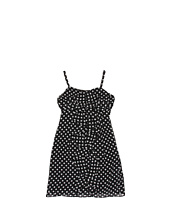 Us Angels - Getaway Glam Printed Chiffon Dots Dress (Big Kids)