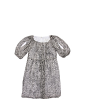 Us Angels - Getaway Glam Printed Chiffon Leopard Dress (Big Kids)