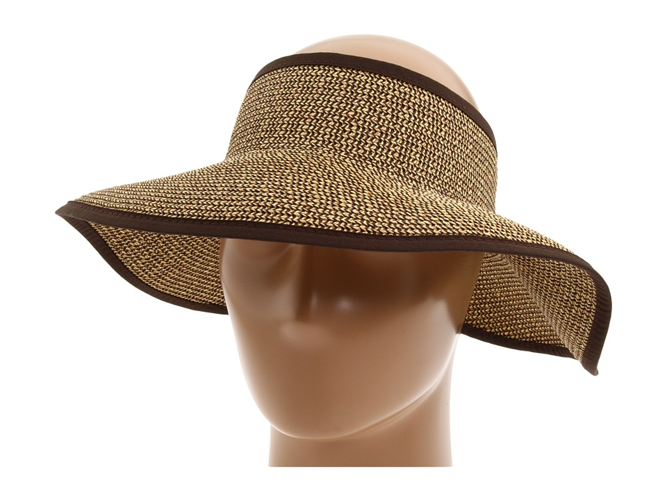 San Diego Hat Company - UBV002 Sun Hat Visor (Multi Brown) Casual Visor