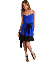 Robert Rodriguez - Color Blocked Handkerchief Dress