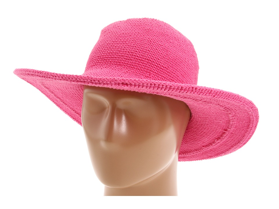 San Diego Hat Company - CHL5 Floppy Sun Hat (Hot Pink) Knit Hats