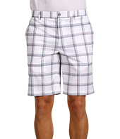 Greg Norman - Plaid Flat Front Tech Short
