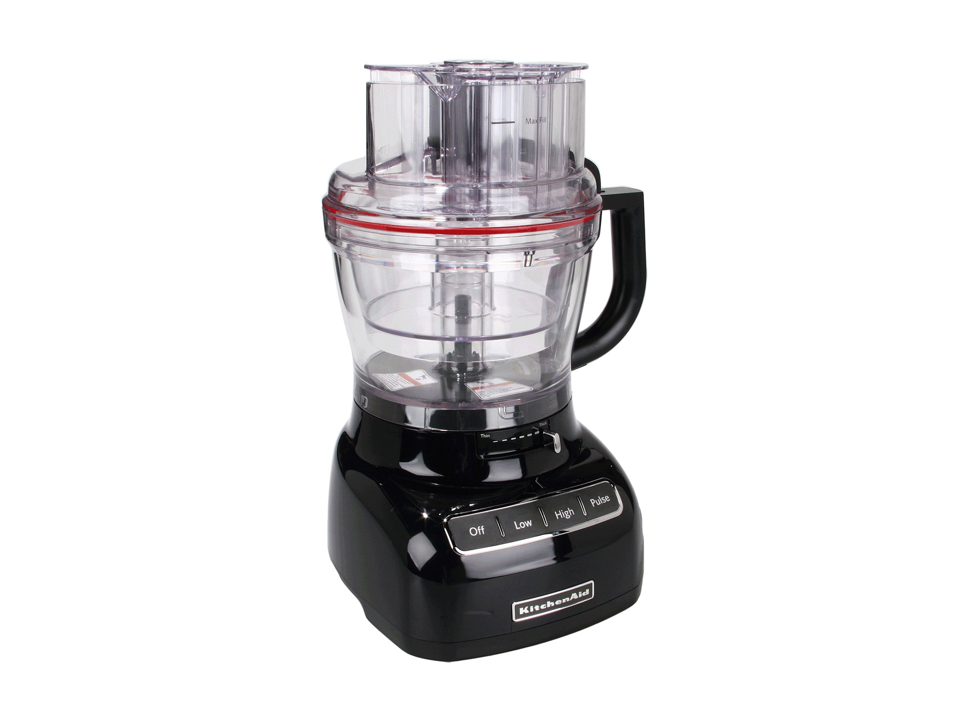Kitchenaid kfp1333 food processor with mini bowl 13 cup for Kitchenaid food processor