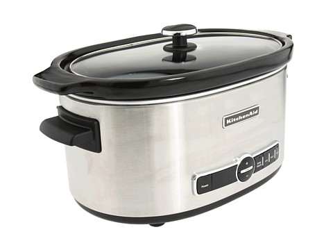 advised kitchenaid slow cooker 7 quart never