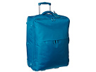 Lipault Paris Plume 0% Foldable 28 2-Wheeled Foldable Packing Case (Aqua)