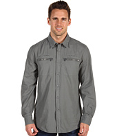 John Varvatos - Slim Fit Zip Pocket Shirt