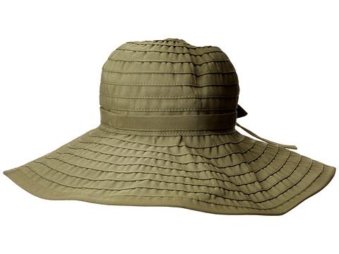 San Diego Hat Company RBL299 Crushable Ribbon Floppy Hat - Olive