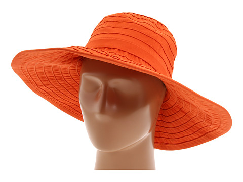 San Diego Hat Company RBL299 Crushable Ribbon Floppy Hat - Rust