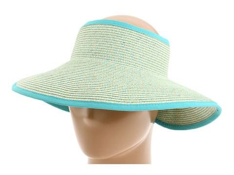 San Diego Hat Company UBV002 Sun Hat Visor - Multi Aqua