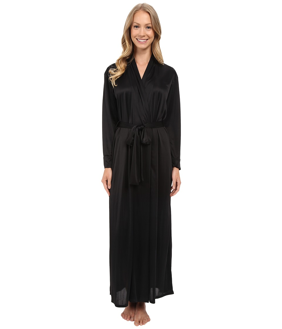 Natori Aphrodite Robe Black Womens Robe