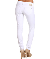 Mavi Jeans - Serena Low-Rise Super Skinny in White Nolita
