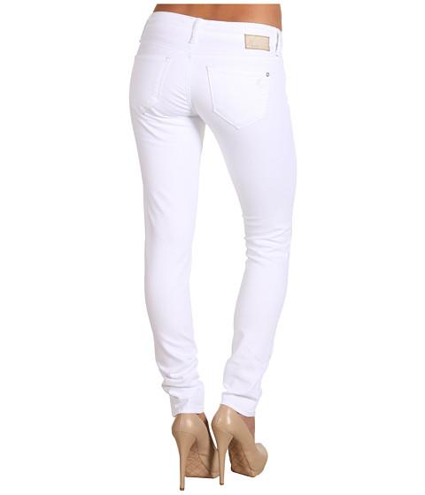 search mavi jeans serena low rise super skinny in white. Black Bedroom Furniture Sets. Home Design Ideas