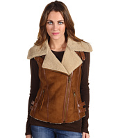 Members Only - Charlize Faux Shearling Hunting Vest
