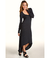C&C California - High-Low L/S Maxi Dress