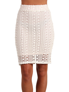 Free People Pin Up Pencil Skirt Ivory Combo - Zappos.com Free Shipping BOTH Ways