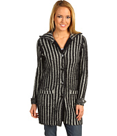 525 america - Plaited Ribbed Sweater Coat