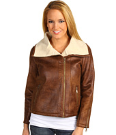 525 america - Sherpa Lined Aviator Jacket