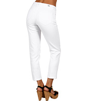 Christopher Blue - Bianca Ankle Crop White Slub Denim