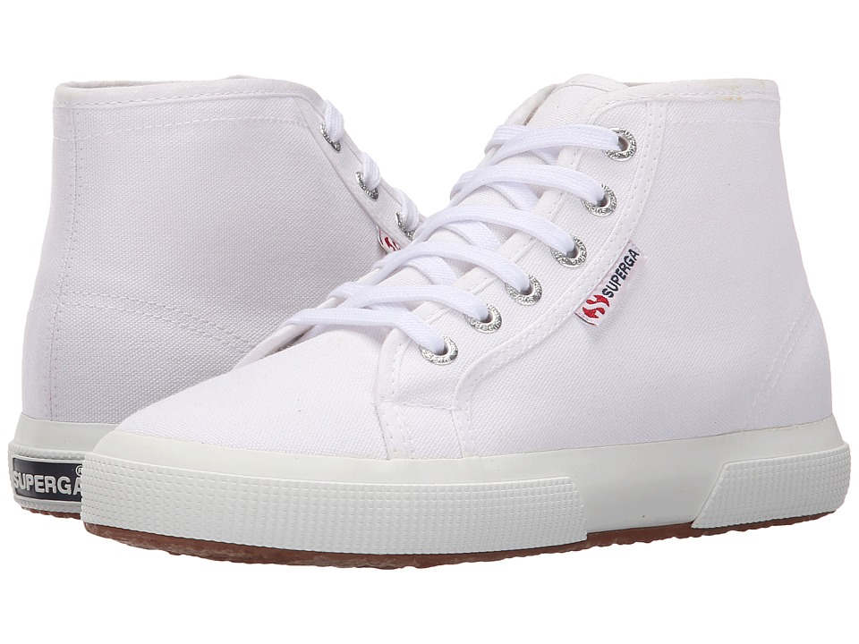 Superga 2095 COTU White Lace up casual Shoes