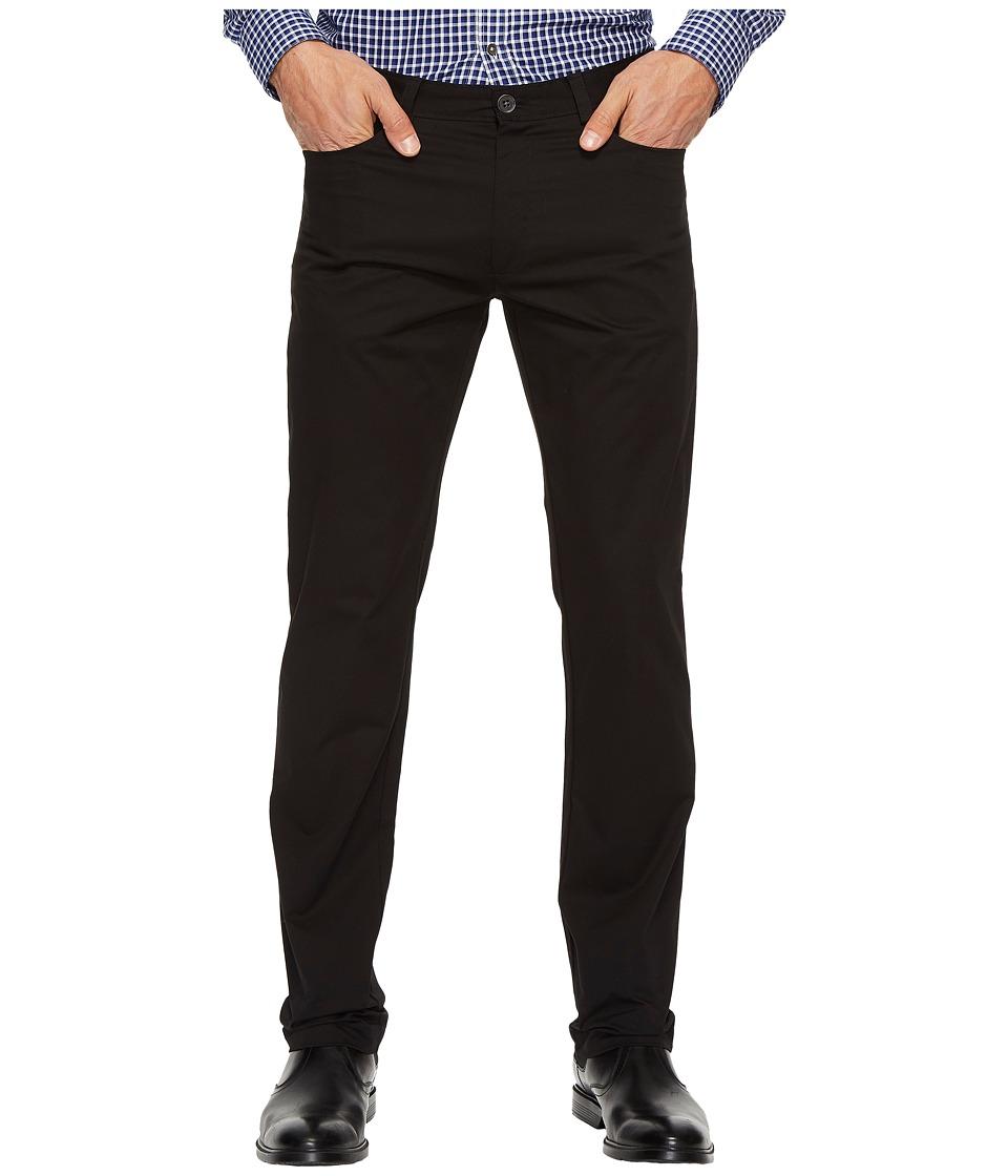 Calvin Klein - Slim Fit 4-Pocket Stretch Sateen Pant