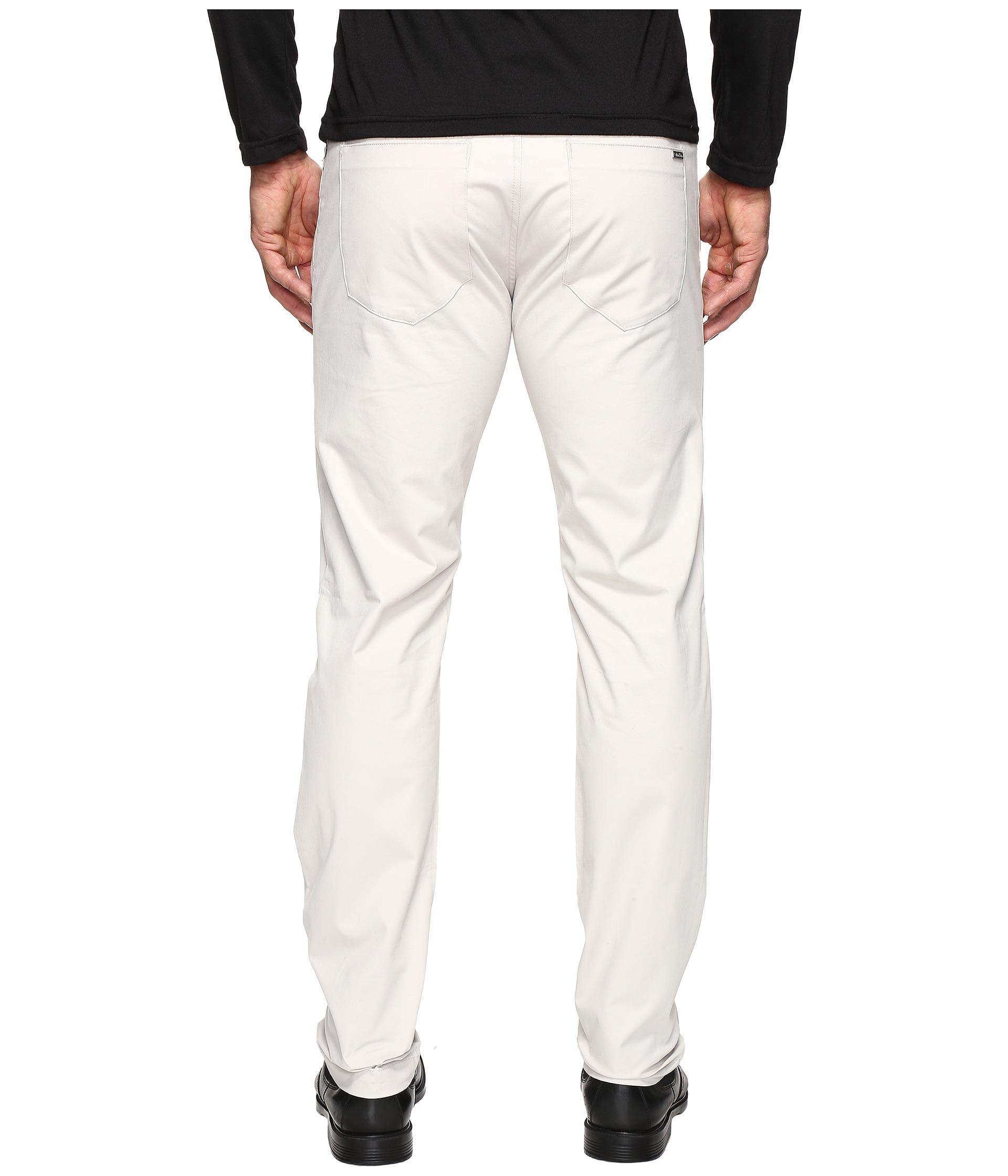 Calvin klein slim fit 4 pocket stretch sateen pant for Calvin klein slim fit stretch shirt