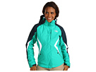 @The North Face Womens Boundary Triclimate Jacket Lizzie Green Kodiak Blue Vaporous Grey Apparel Coats Outerwear AMVDXX3