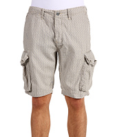 Scotch & Soda - Linen Allover Print Cargo Short