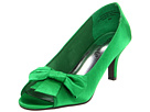 Bouquets - Trish (Apple Green Satin) - Footwear