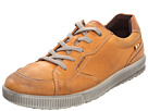 ECCO - Bradley Long Lace Tie (Amber/Cognac) - Footwear