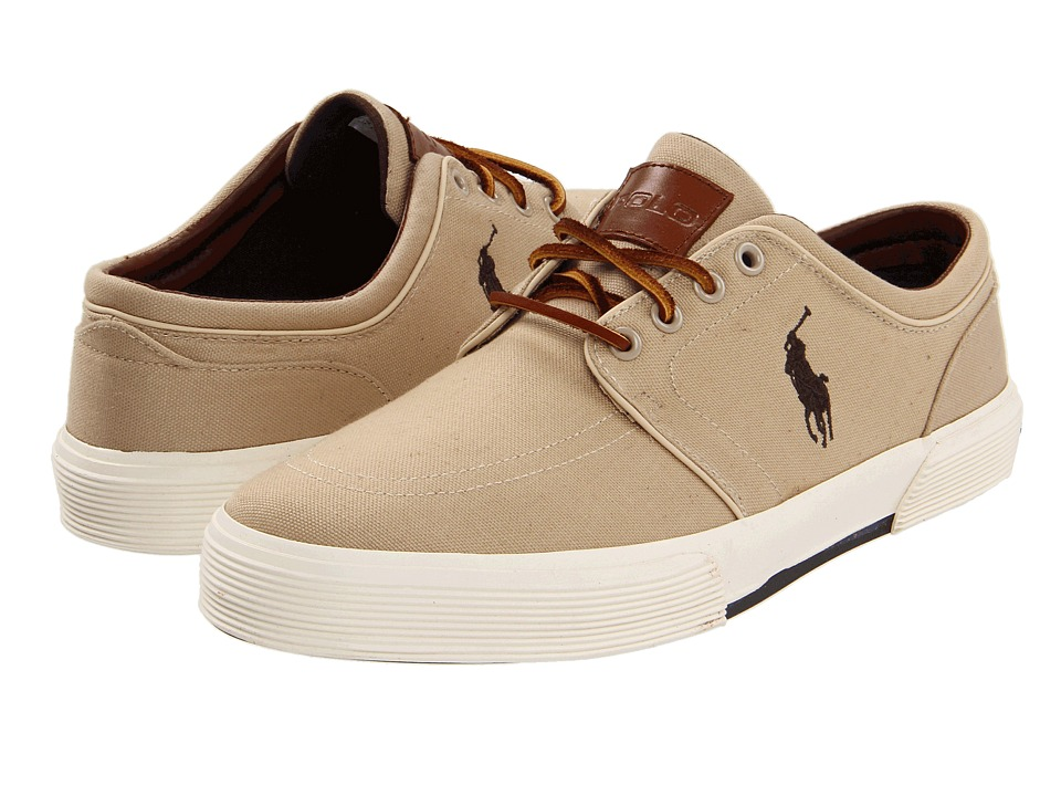 Polo Ralph Lauren Faxon Low (Khaki Canvas) Men