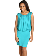 Kenneth Cole New York - Extended Shoulder Dress w/ Gathering