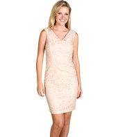 Jax - Lace Dress with Surplice Bodice