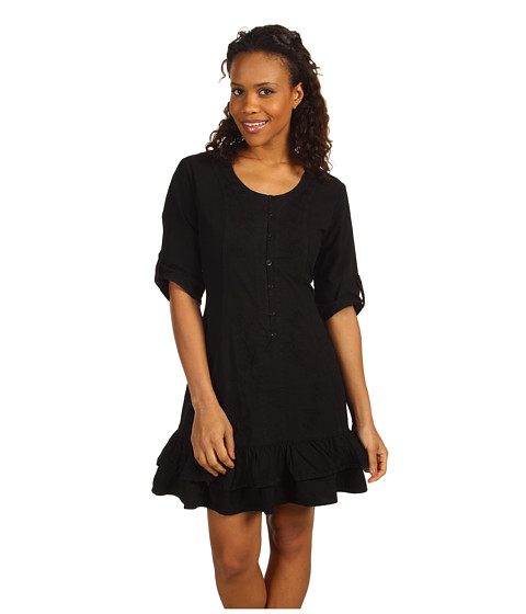 Cheap Scully Cantina Tie Back Kristyn Dress Black