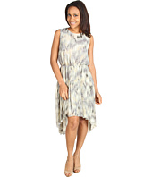 Kenneth Cole New York - Printed Ikat Pleated Dress