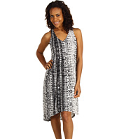 Kenneth Cole New York - Python Stripe Micro Pleat Dress