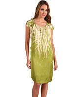 Kenneth Cole New York - Palm Batik Rouched Sleeve Dress