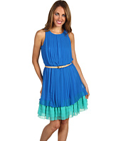 Jessica Simpson - Sleeveless Colorblock Hem Dress