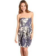 Jessica Simpson - Floral Print Strapless Dress
