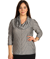 Jones New York - Plus Size Cowl Neck Sweater
