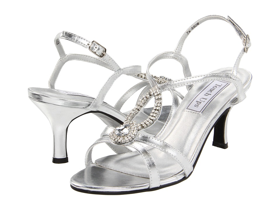 ... UPC 848231000303 Product Image For Touch Ups   Mindy (Silver Metallic)  Womenu0027s Bridal Shoes ...
