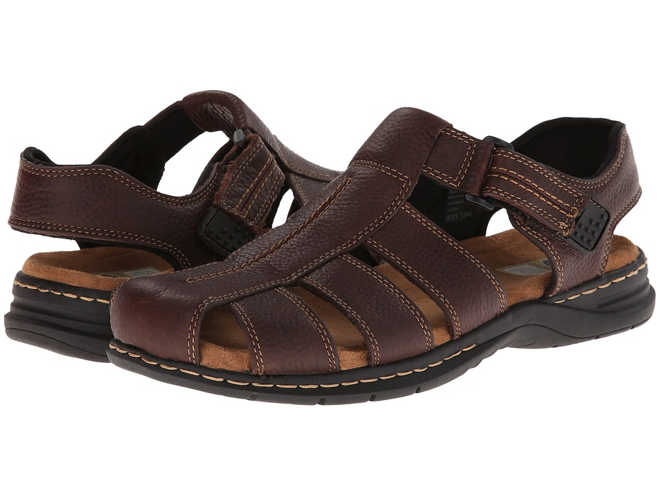 Dr. Scholls Gaston Briar Brown Mens Sandals
