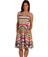 Ellen Tracy - Garden Stripe Fit and Flare