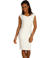 Ellen Tracy - Bias Seamed Sheath Dress